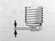 Ecartement electrode bougie scooter